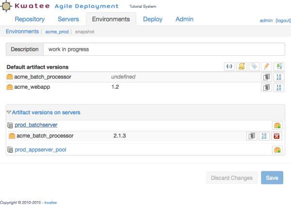 Vorschau Kwatee Agile Deployment for Linux + Mac - Bild 1