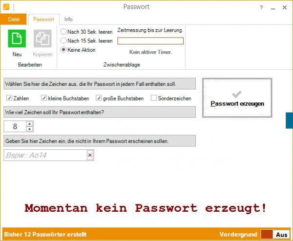 Vorschau Passwort - Bild 1