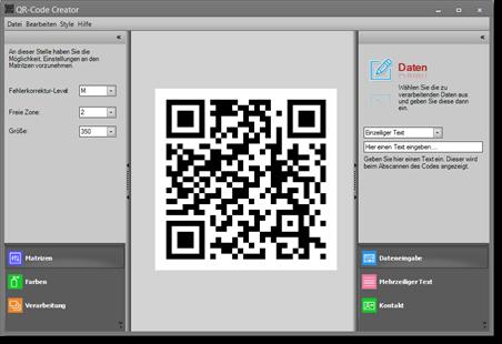 Vorschau QR-Code Creator - Bild 1