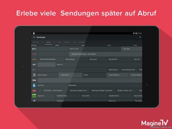 Vorschau Magine TV for Android - Bild 1