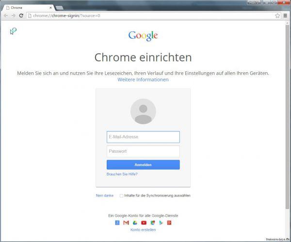 Vorschau Google Chrome for Linux - Bild 1