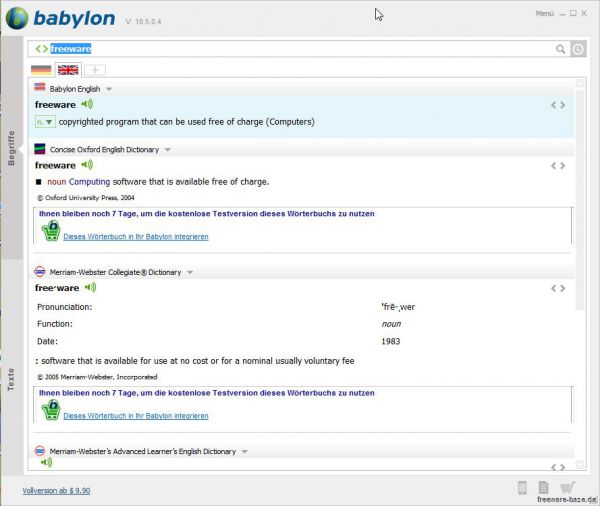 Vorschau Babylon Translater - Bild 1