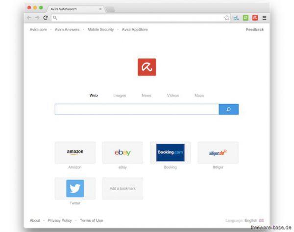 Vorschau Avira Browser - Bild 1