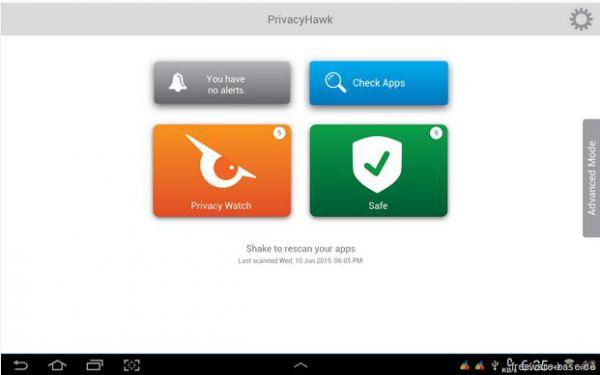Vorschau PrivacyHawk fuer Android - Bild 1