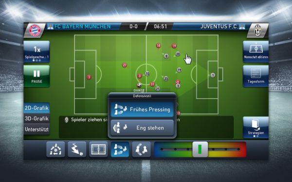 Vorschau PES Club Manager für Android und iOS - Bild 1