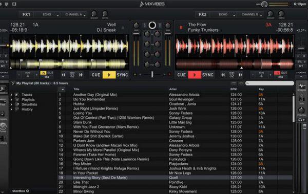 Vorschau Cross DJ Free fuer Mac OS - Bild 1