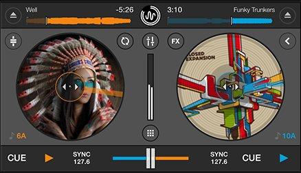 Vorschau Cross DJ Free fuer iPhone - Bild 1