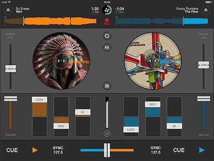 Vorschau Cross DJ Free fuer iPad - Bild 1