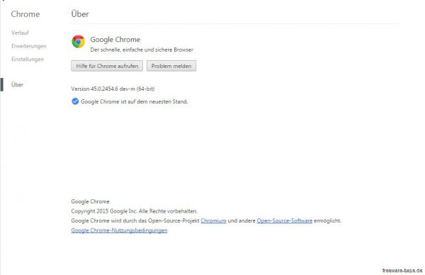 Vorschau Google Chrome Developer Build 32Bit - Bild 1