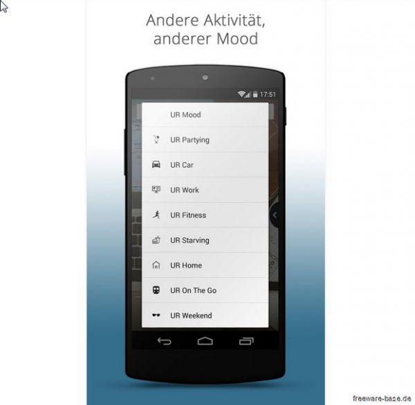 Vorschau UR Mood Launcher fuer Android - Bild 1