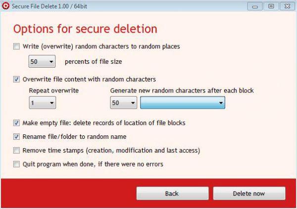 Vorschau CompuRocket Secure File Delete - Bild 1
