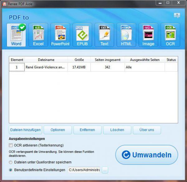 Vorschau Renee PDF aide - Bild 1