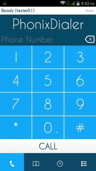 Vorschau MobiSIP Dialer fuer Android - Bild 1