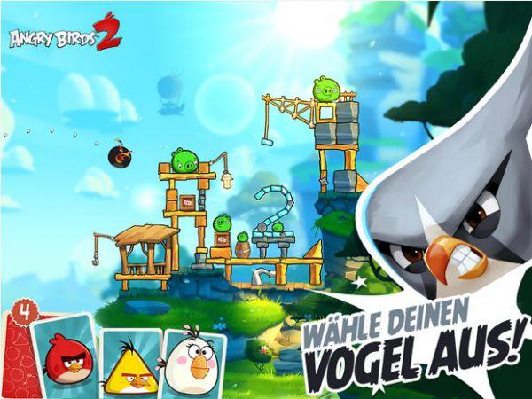 Vorschau Angry Birds 2 für Android und iPhone - Bild 1