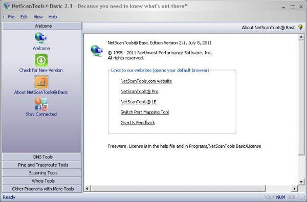 Vorschau NetScanTools - Basic Edition - Bild 1