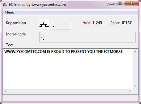 Vorschau ECTmorse - Bild 1