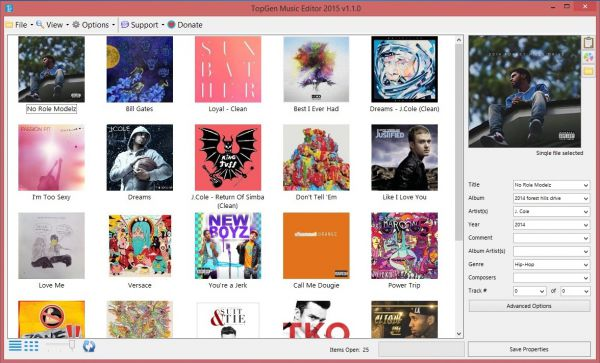 Vorschau TopGen Music Editor - Bild 1