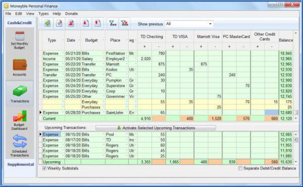 Vorschau Moneyble Personal Finance - Bild 1