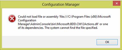 Vorschau CM2012 Console MDT Integration Error Fix - Bild 1