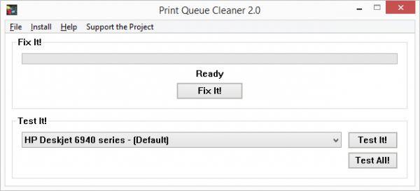 Vorschau Print Queue Cleaner - Bild 1