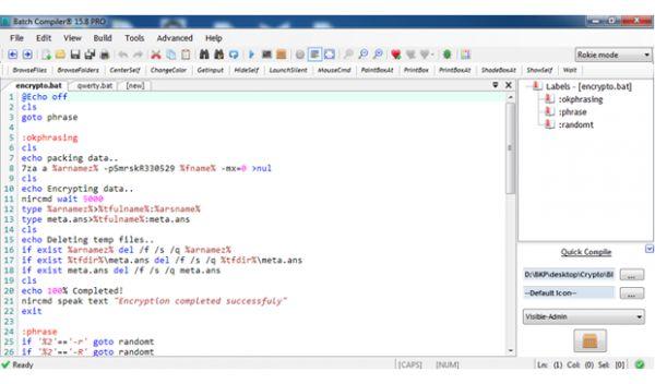 Vorschau Batch Compiler - Bild 1