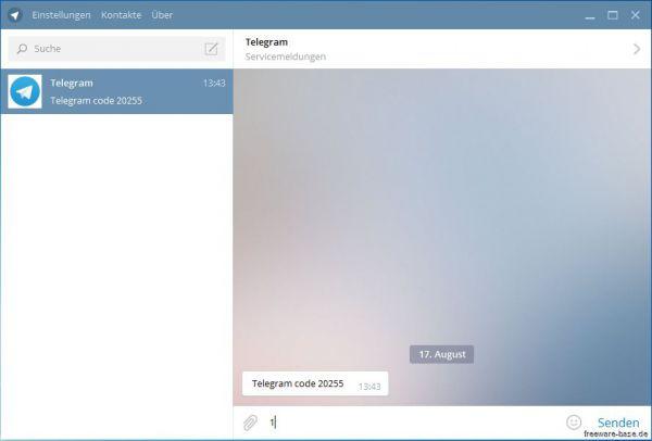 Vorschau Telegram für Desktop und Portable - Bild 1