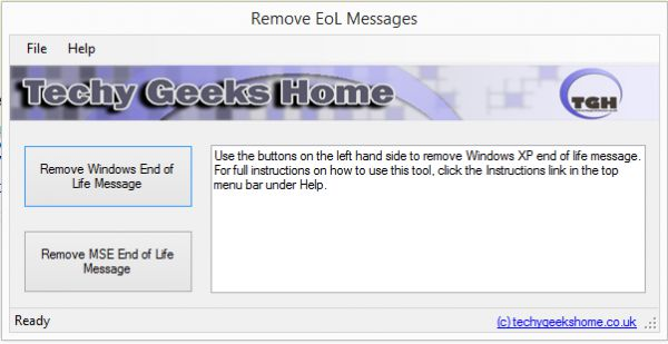Vorschau Remove Windows XP End of Life - Bild 1