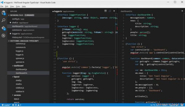 Vorschau Microsoft Visual Studio Code - Bild 1