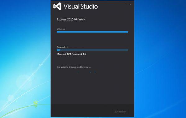 Vorschau Visual Studio Express fuers Web - Bild 1