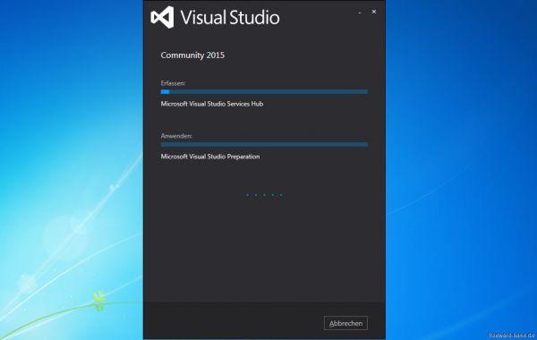 Vorschau Visual Studio Community Express - Bild 1