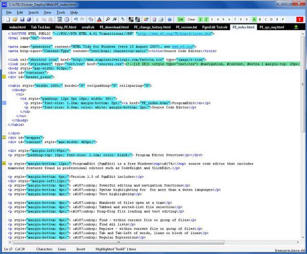 Vorschau ProgramEdit - Bild 1