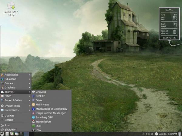 Vorschau LXLE Linux System - The LXLE Desktop - Bild 1