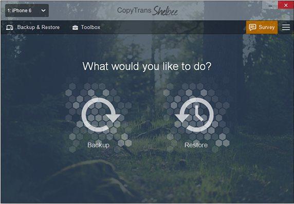Vorschau CopyTrans Shelbee für iOS - Bild 1