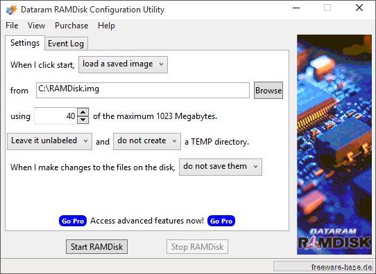 Vorschau Dataram RAMDisk - Bild 1