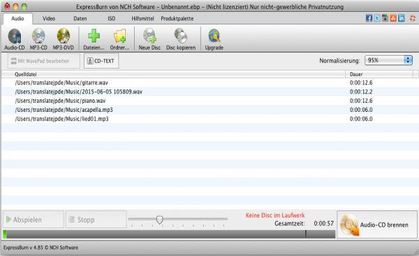brennprogramm für mac