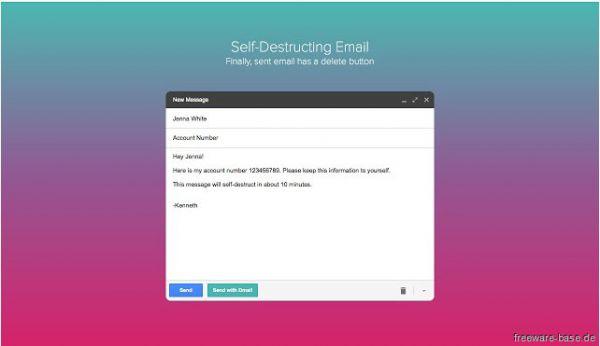 Vorschau Dmail fuer Chrome - Bild 1