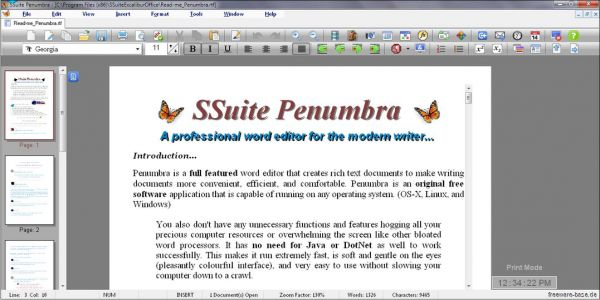 Vorschau SSuite Penumbra Editor - Bild 1