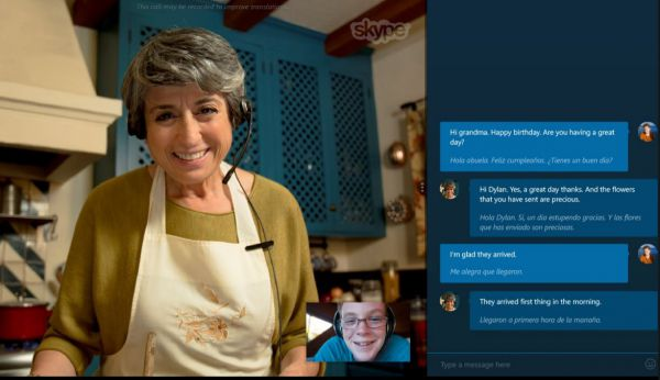 Vorschau Skype Translator fuer Windows 8 und 10 App - Bild 1