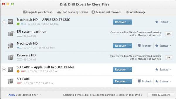 Vorschau Disk Drill für Mac - Bild 1