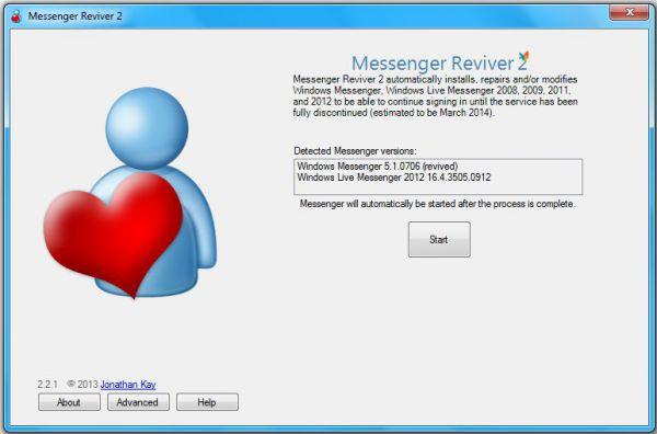 Vorschau Messenger Reviver - Bild 1