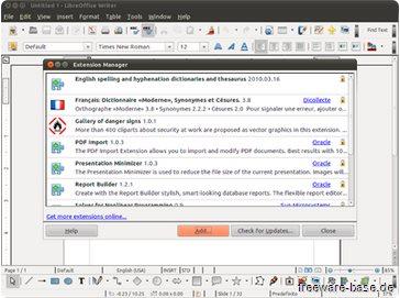 Vorschau LibreOffice für Linux - Bild 1