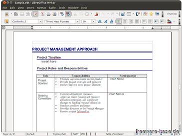 Vorschau LibreOffice für Mac OS - Bild 1