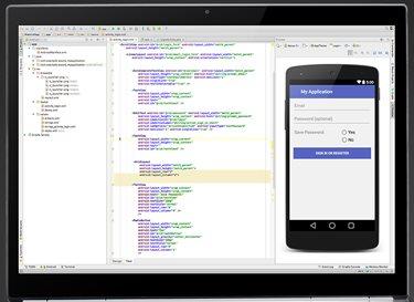 Vorschau Android Studio - Bild 1