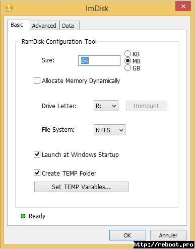 Vorschau ImDisk Toolkit - Bild 1