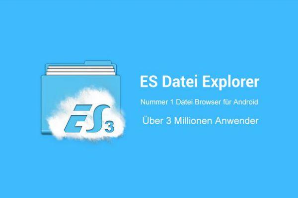 Vorschau ES Datei Explorer - Android Dateimanager - Bild 1