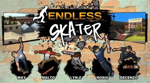 Vorschau Endless Skater fuer Windows 10 App - Bild 1