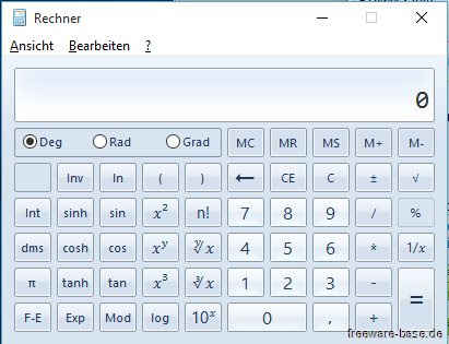 Vorschau Old Calculator fuer Windows 10 - Bild 1