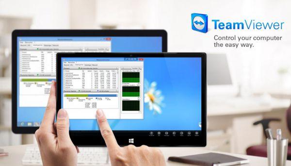 Vorschau TeamViewer Touch fuer Windows 10 App - Bild 1