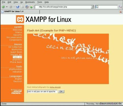 Vorschau XAMPP für Mac - Bild 1