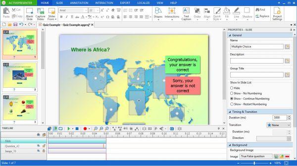 Vorschau ActivePresenter Free Edition - Bild 1